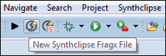 New File Toolbar Item